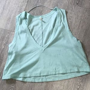 Intimately Free People Blue Cami Top